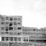 La facultad de Filosofía y Letras, destruida por las bombas en 1937
