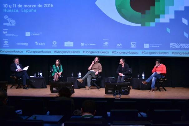 Cuatro periodistas de investigación en el Congreso de Periodismo Digital /Foto: Ade Martín