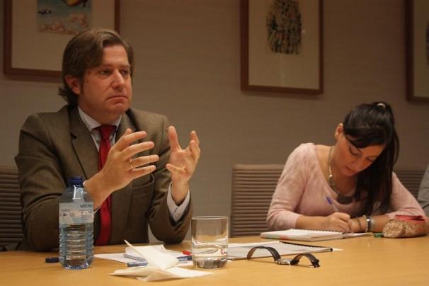 Javier Gomá durante la charla