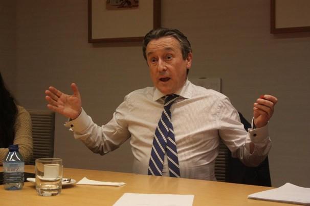 Hermann Tertsch en su visita al XXV Máster de Periodismo ABC-UCM