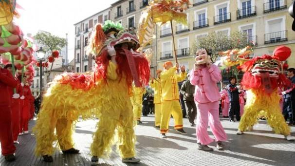 華人慶祝中國新年