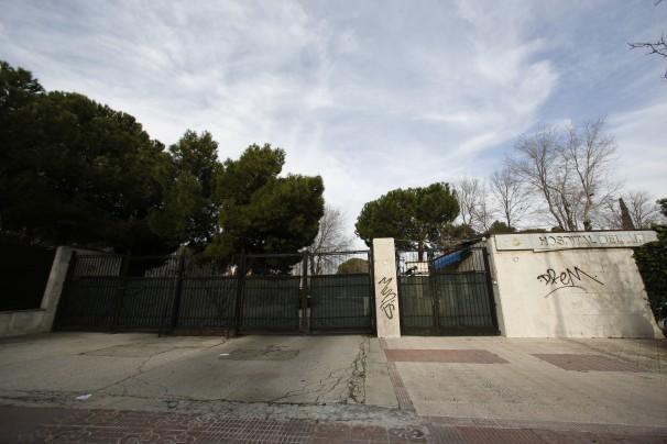 La entrada al solar donde se ubicaba el Hospital del Aire - Foto: José Ramón Ladra