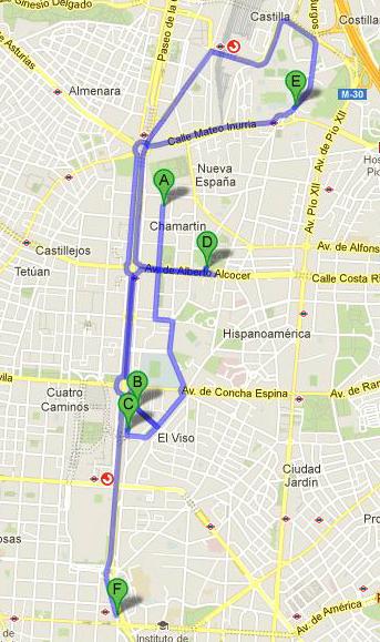 Un recorrido por las placas de Chamartín. Gráfico: U. Mezcua