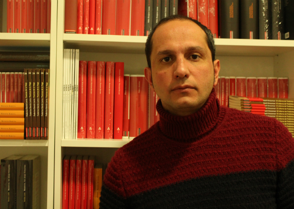 El escritor Jorge Carrión. Foto: M. N. M