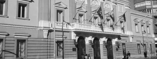 Fachada de la Junta Municipal del distrito de Tetuán