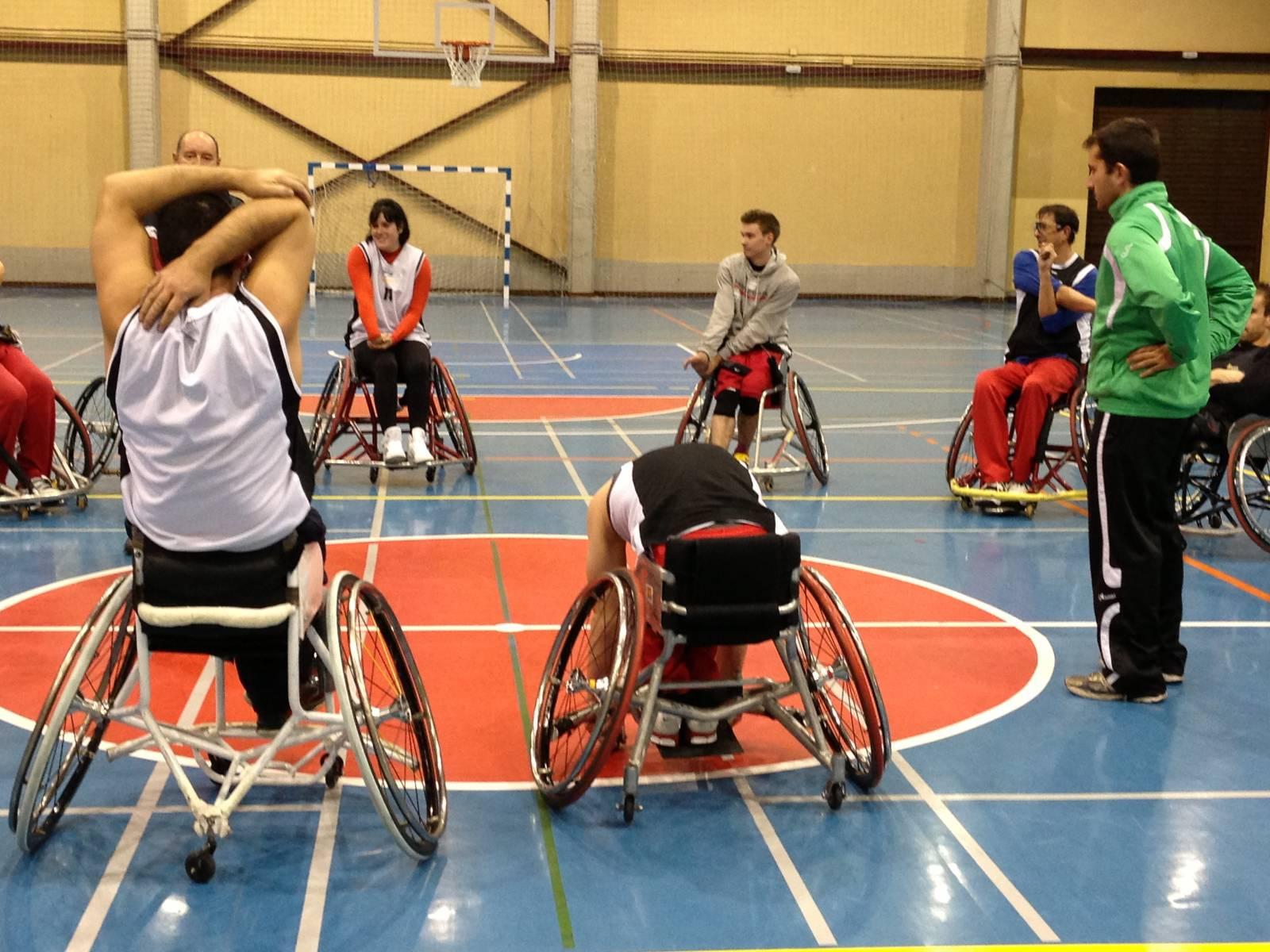 Baloncesto en silla de ruedas Madril nea