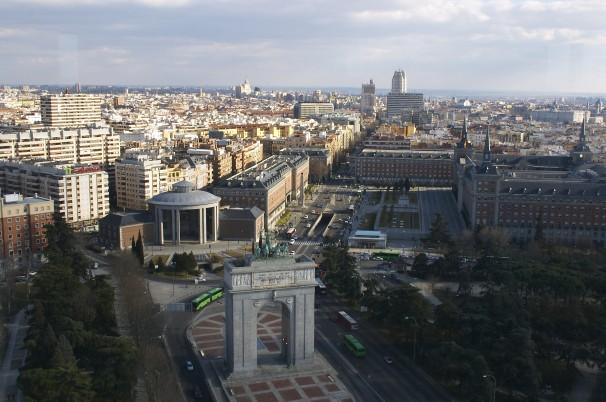 Moncloa a vista de pájaro. Foto: Consorcio de Madrid