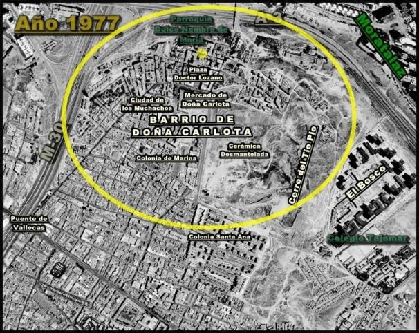 Mapa antiguo de Vallecas Imagen: cort. musicaypitanzas