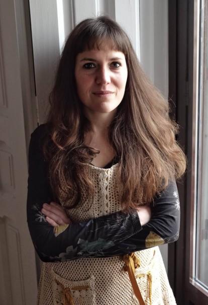 La artista creadora del recital de recetas / Foto: Marta Fernández
