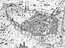 Reconstrucción de la ciudad de Mayrit en el s. X Foto:bloghistoriadelarte.com
