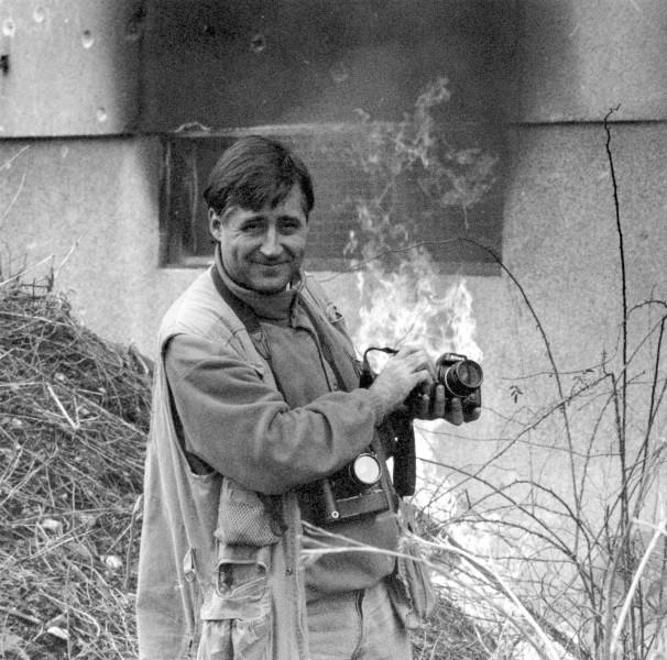 El fotoperiodista Gervasio Sánchez. Foto: MECD