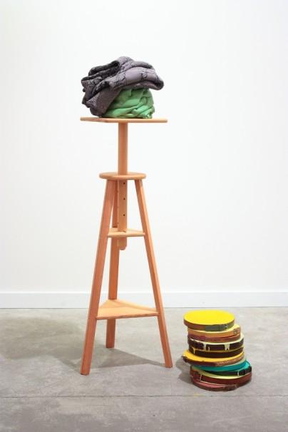 La obra «Mitad tú, mitad yo», de Guillermo Mora. Foto: Formato Cómodo