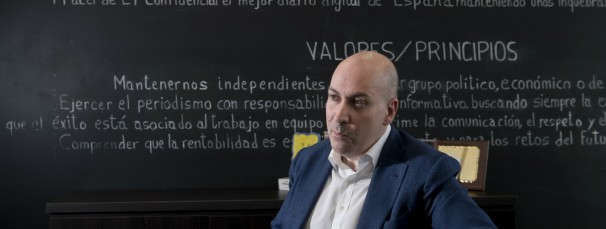Nacho Cardero, director de El Confidencial - Foto: El Confidencial