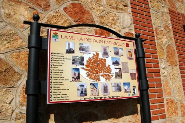 Toledo 21-03-07 Panel informativo de La Villa de Don Fadrique