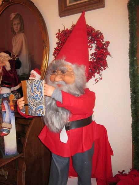 El papá Noel a tamaño natural que compró en Alemania