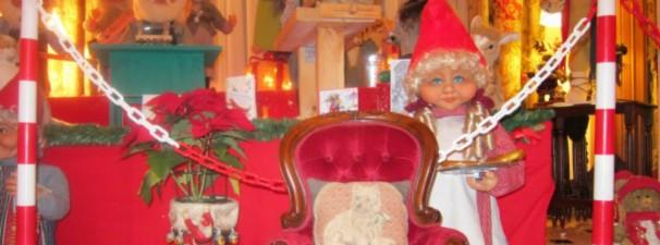 Algunos de los muñecos navideños de Cavero