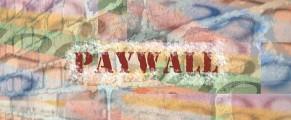 Muro de pago. Autor: GioSaccone/CC