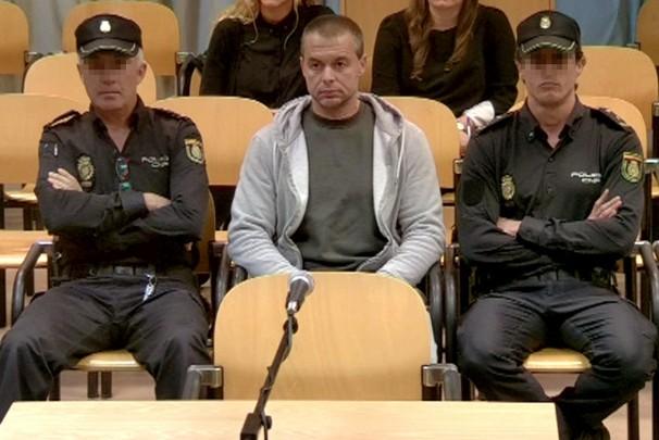 Antonio Ortiz, el pederasta de Ciudad Lineal, durante el juicio - Foto: EFE