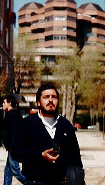 """Pepu Hernández en el callejón de los """"Pescaítos"""""""