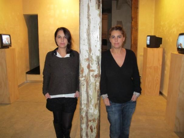Las hermanas Pilar y Mayte Castellano, de la galeria Formato Comodo. Foto: ABC