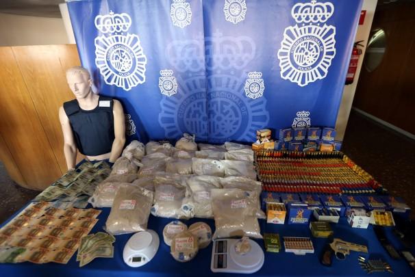 Una de las incautaciones de heroína llevadas a cabo en Madrid - Ernesto Agudo