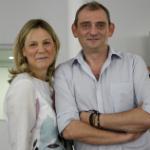 Raquel Ponce y José Robles, dueños de la galería