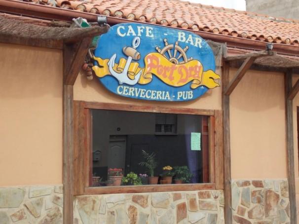 Cervecería-pub regentada por Pepe, el hermano de Agustín Delicado. Foto: F.D-I.