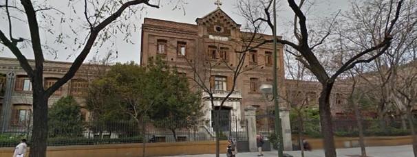 La residencia de ancianos de la Calle Conde de Peñalver. Foto: ABC