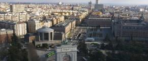 Vista de Moncloa.Consocio de Madrid
