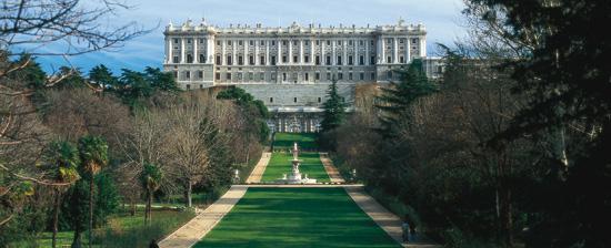 El palacio real y sus jardines entre la historia y el misterio - Jardines palacio real madrid ...