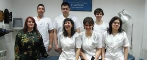 El equipo de fisioterapeutas de SM