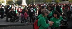 Padres y alumnos en defensa de la educación pública