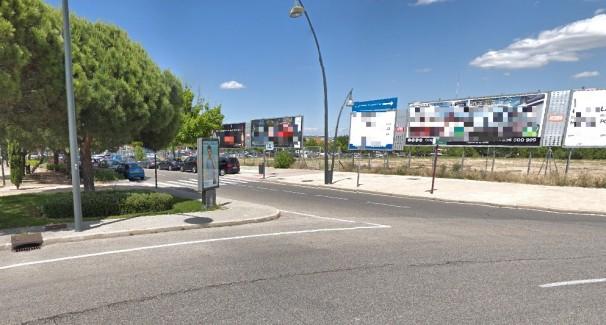 Soportes publicitarios en Pozuelo de Alarcón. Foto: Google Maps