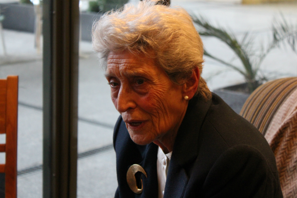 Pura Ramos, la periodista viva más veterana de Madrid. Foto: N. Mira