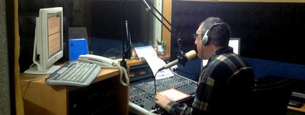 Javier durante su programa/ Foto: Y.G.
