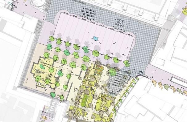«La Remonta a un paso», proyecto ganador de la reforma de la Plaza de la Remonta