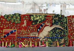 Detalle de un tapiz. RFT