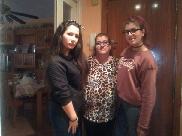 De izquierda a derecha: Laura, Rosi y Beatriz