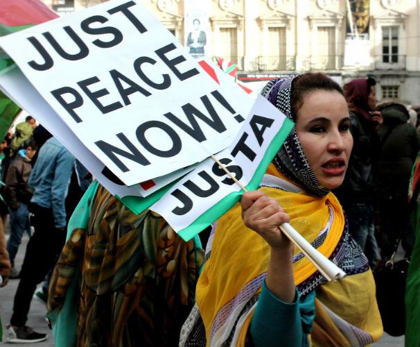 sahara manifestacion