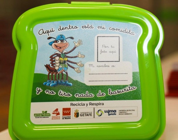 Ejemplo de una de las sandwicheras que va a repartir el Ayuntamiento de Getafe