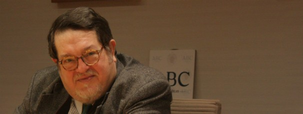 José Miguel Santiago Castelo durante la charla con los alumnos del Máster ABC-UCM. Foto: Regina Rivera