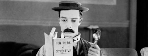 Sherlock Jr, película de Buster Keaton (1924)   Foto: ABC