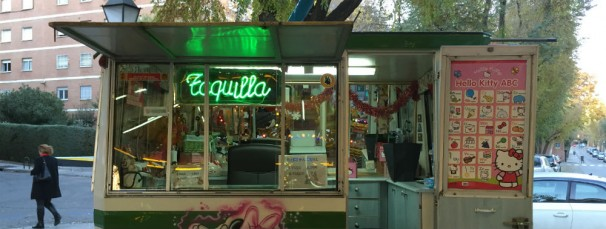 Taquilla «Babi Pascual», en pleno barrio Retiro. Foto: E.B
