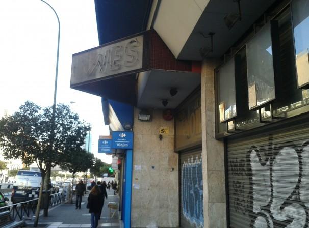 Los cines Renoir, cerrados. Foto: D. V.