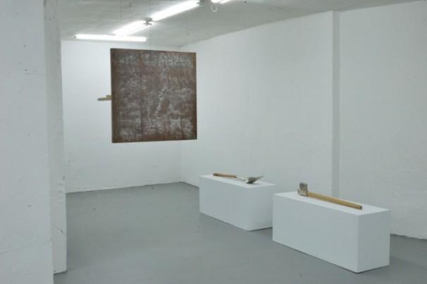 Juan Luis Moraza | Gong 1 | Escultura - Bronce y madera