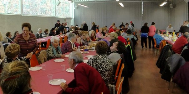 Centro de Ocio el día de la tortilla de 2018. Foto: Ayto Azuqueca.