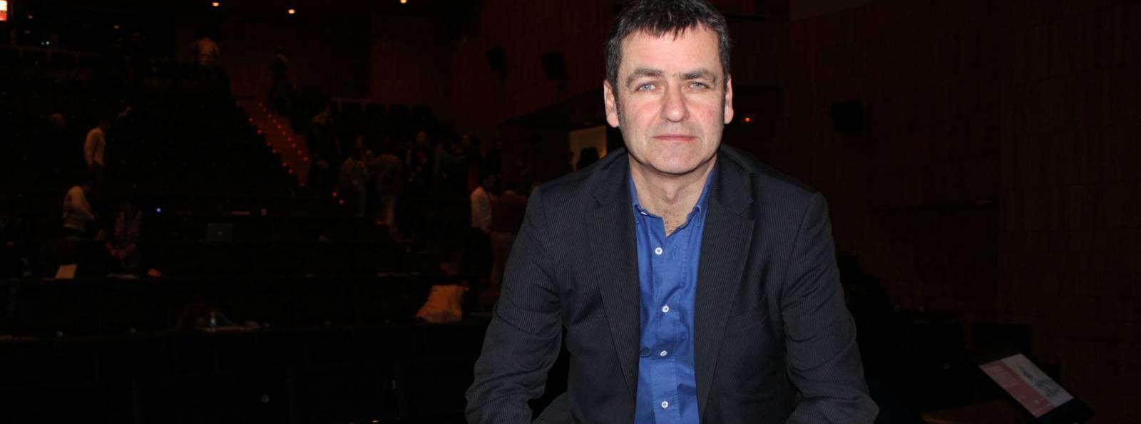 El periodista británico Giles Tremlett en el XIV Congreso de Periodismo Digital