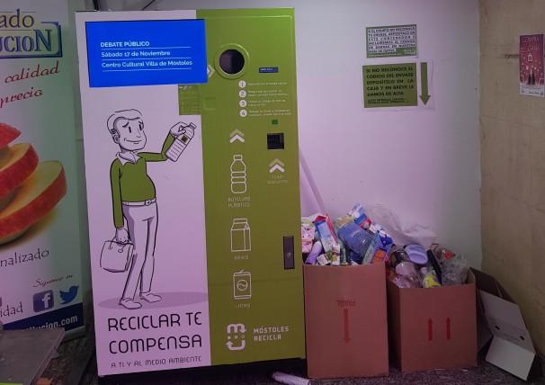 Sistema de Devolución de envases por Recompensa (SDR). Fotos: C. Falcón