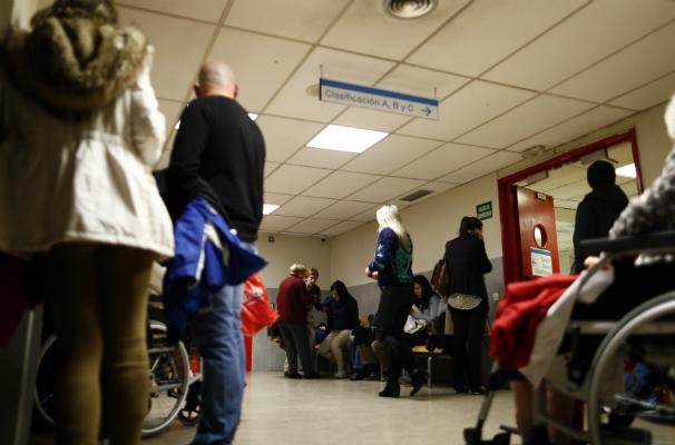 Urgencias en el Hospital La Paz. Foto: Óscar del Pozo