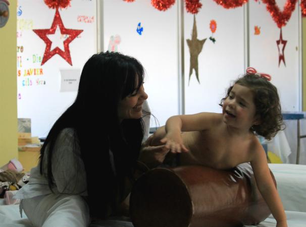 Victoria y «su fisio». Foto: T. D.